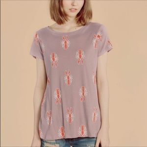 Wildfox | Lobster Print Classic Women's T-Shirt